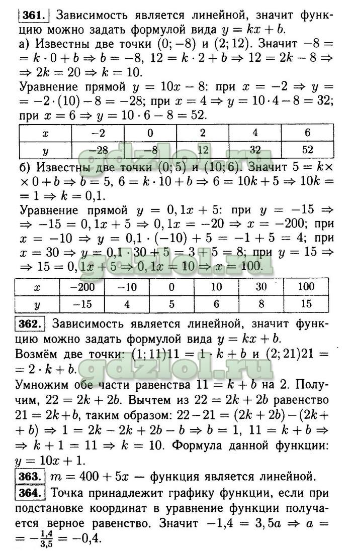 ГДЗ по алгебре 7 класс Ю.Н. Макарычев