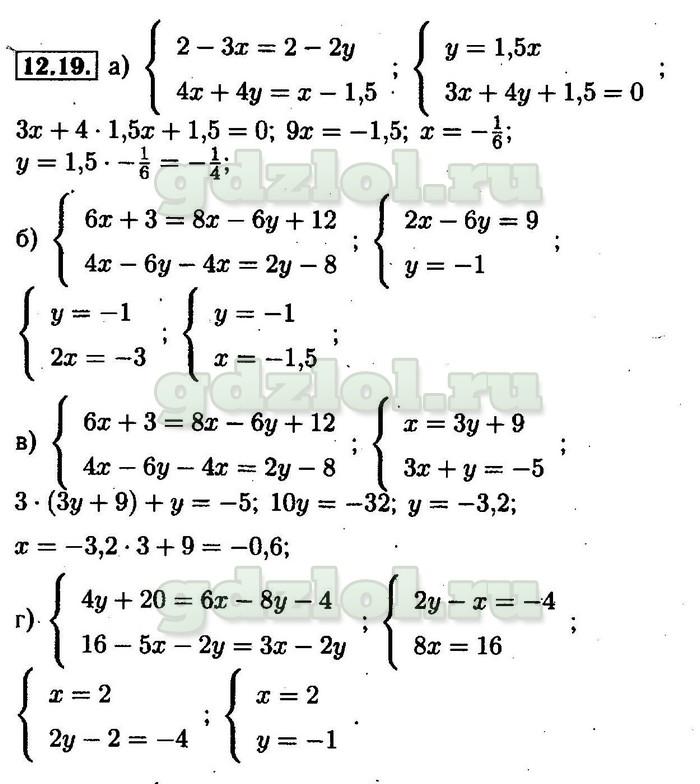ГДЗ по алгебре 8 класс Мордкович 2005