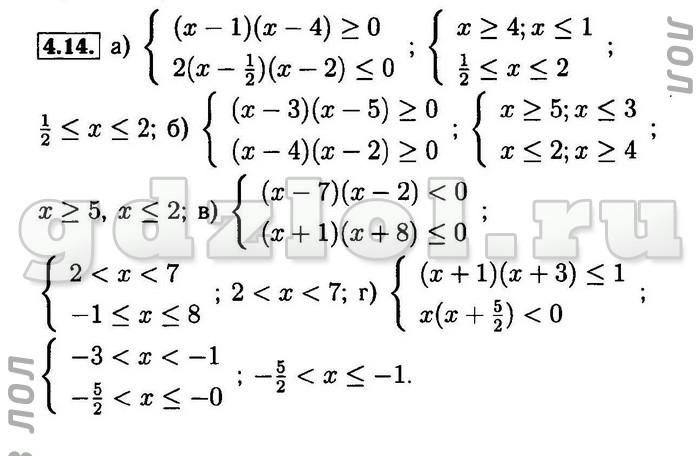 Гдз по математике 9 класс мордкович домашняя контрольная работа