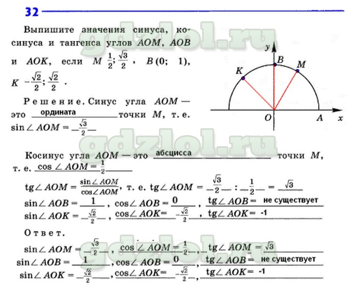 Гдз по геометрий рабочая тетрадь 9 класс анатасян